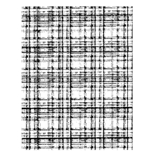 Wendy Vecchi Background Stamp - Plaid Flannel