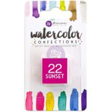 Prima Watercolor Confections Pan Refill - 22 Sunset