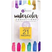 Prima Watercolor Confections Pan Refill - 21 Pineapple