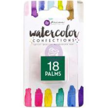 Prima Watercolor Confections Pan Refill - 18 Palms