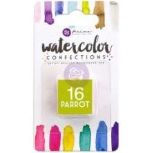 Prima Watercolor Confections Pan Refill - 16 Parrot
