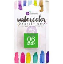 Prima Watercolor Confections Pan Refill - 06 Green