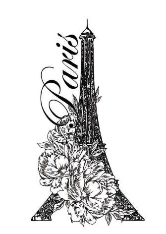 Sara Signature Parisian Acrylic Stamp - Le Français