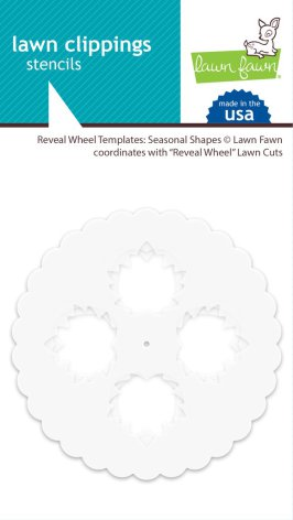 Lawn Fawn Templates - Reveal Wheel Seasonal Shapes