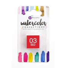 Prima Watercolor Confections Pan Refill - 03 Red