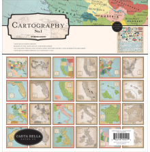 Carta Bella Collection Kit - Cartography No1