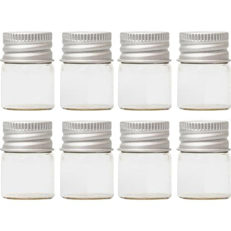 We R Memory Keepers Glass Jars 8/Pkg - Small