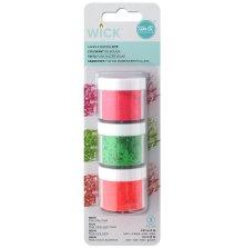 We R Memory Keepers Wick Wax Dye 2g 3/Pkg - Neon