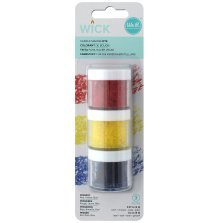We R Memory Keepers Wick Wax Dye 2g 3/Pkg - Primary
