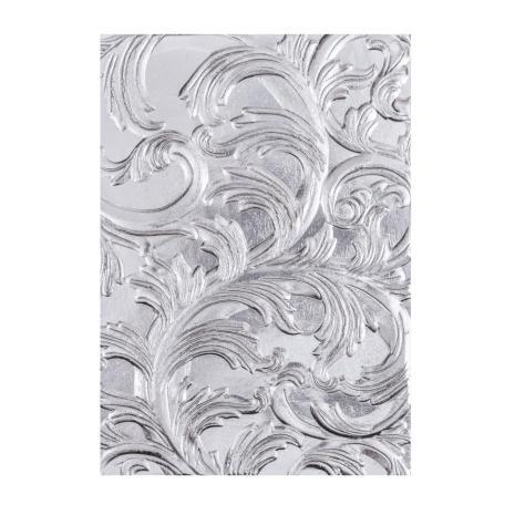 Tim Holtz Sizzix 3-D Texture Fades Embossing Folder - Elegant