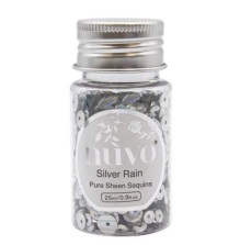 Tonic Studios Nuvo Pure Sheen Sequins 25ml - Silver Rain 1144N