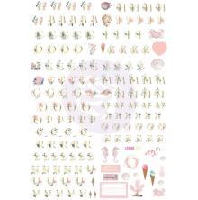 Prima Golden Coast Alphabet Stickers 5/Sheets - Alpha UTGÅENDE