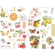 Prima Chipboard Stickers 39/Pkg - Fruit Paradise UTGÅENDE