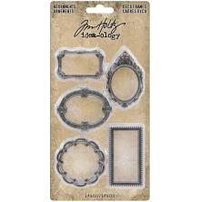 Tim Holtz Idea-Ology Metal Deco Frames 5/Pkg