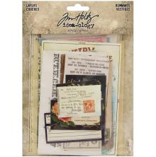 Tim Holtz Idea-Ology Layers Remnants 33/Pkg - Paper