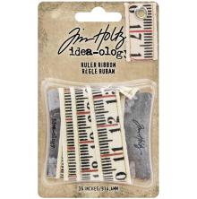 Tim Holtz Idea-Ology Ruler Ribbon 36in