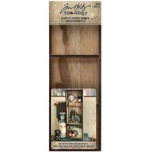 Tim Holtz Idea-Ology Vignette Divided Drawer 3.5X10 - 3 Compartments