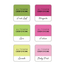 Altenew Dye Inks 6 Mini Cube Set - Spring Bouquet