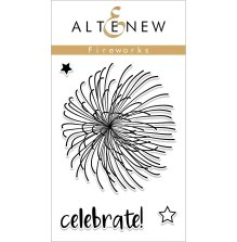 Altenew Clear Stamps 2X3 - Fireworks