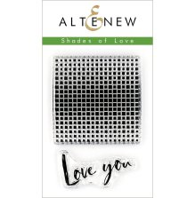 Altenew Clear Stamps 2X3 - Shades of Love