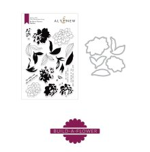 Altenew Clear Stamp And Die Build A flower - Dahlia