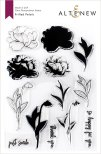 Altenew Clear Stamps 6X8 - Frilled Petals