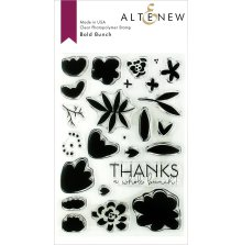 Altenew Clear Stamps 4X6 - Bold Bunch