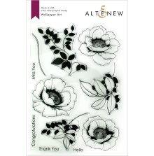 Altenew Clear Stamps 6X8 - Wallpaper Art