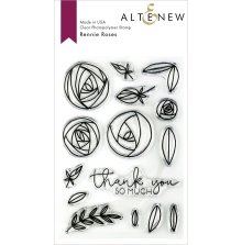 Altenew Clear Stamps 4X6 - Rennie Roses