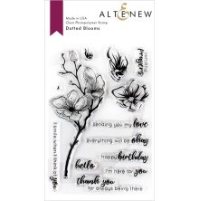 Altenew Clear Stamps 4X6 - Dotted Blooms