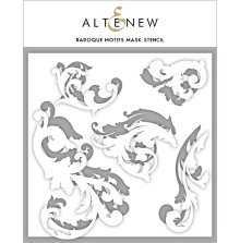 Altenew Stencil 8x8 - Baroque Motifs