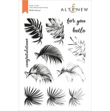 Altenew Clear Stamps 6X8 - Wild Ferns