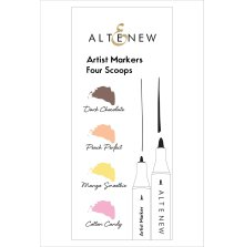 Altenew Artist Markers Set - Four Scoops