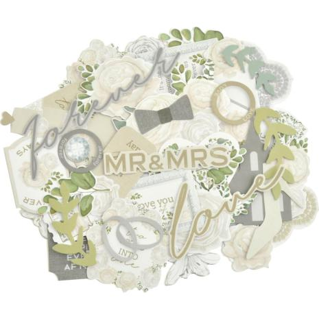 Kaisercraft Collectables Cardstock Die-Cuts - Two Souls