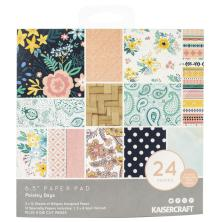 Kaisercraft Paper Pad 6.5X6.5 40/Pkg - Paisley Days