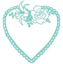 Kaisercraft Decorative Die -Flora Heart Frame
