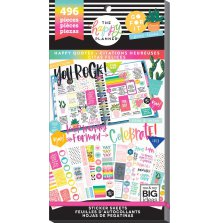 Me & My Big Ideas Happy Planner Sticker Value Pack -Happy Quotes