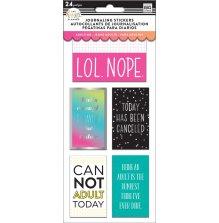 Me & My Big Ideas Happy Planner Medium Flip Stickers - Adulting