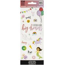 Me & My Big Ideas Stickers 330/Pkg - Girl