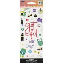 Me & My Big Ideas Stickers 298/Pkg - Fitness