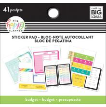 Me & My Big Ideas Happy Planner Tiny Sticker Pad - Budget