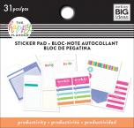 Me & My Big Ideas Happy Planner Tiny Sticker Pad - Productivity