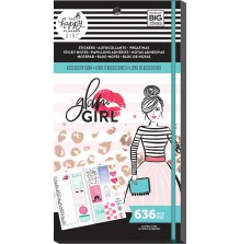 Me & My Big Ideas Happy Planner Accessory Book - Glam Girl