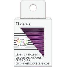 Me & My Big Ideas CLASSIC Happy Planner Metal Expander Discs - Violet