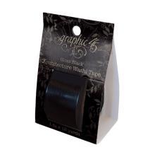 Graphic 45 Staples Architecture Washi Tape - Gloss Black