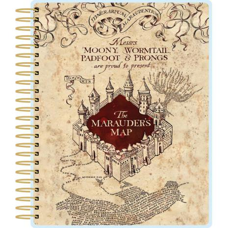 Paper House Life Organized 12-Month Planner - Harry Potter Marauders Map