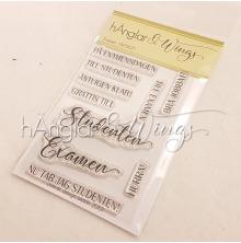 hÄnglar & Wings Clear Stamps - Examen A7