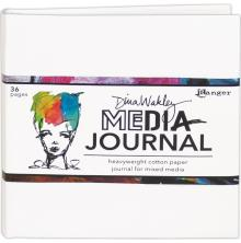 Dina Wakley Media White Journal 6X6