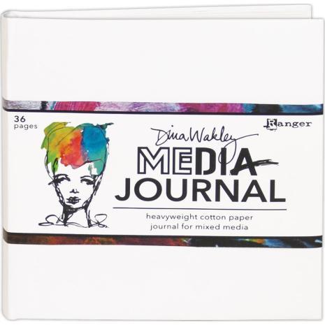Dina Wakley Media White Journal 6X6