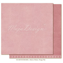 Maja Design Monochromes 12X12 Shades of Denim - Vintage Pink